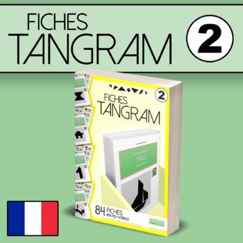 Fiches Tangram VOL.2 - 84 fiches recto/verso