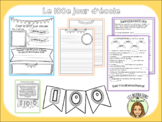 Fiches d'activités 100e jour cycle moyen FRENCH 100th day
