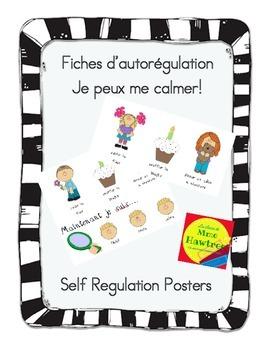 Fiches d'autorégulation Je peux me calmer! - Self Regulation Posters
