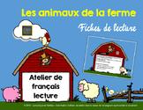 Fiches de lecture - Les animaux de la ferme [FRENCH]