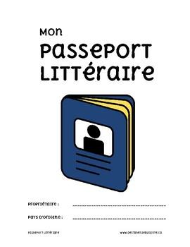 Fiches de lecture : Passeport Littéraire / French Reading Tasks