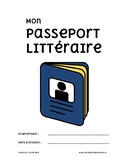 Fiches de lecture : Passeport Littéraire / French Reading Tasks
