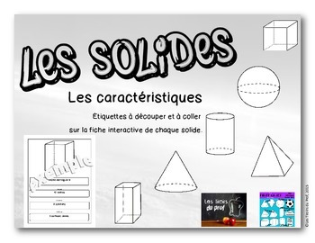 Fiches interactives ''Les solides''.
