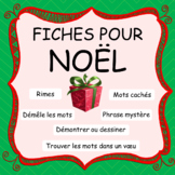 Fiches pour NOËL - French Christmas Worksheets