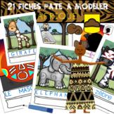 Fichier Pâte à Modeler AFRIQUE