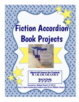 Fiction: Accordion Book Project (Common Core Aligned)