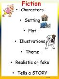Fiction Anchor Chart DLP Spanish
