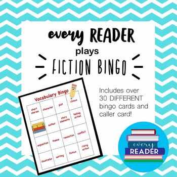Fiction Terms Bingo