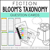 Fiction Bloom's Taxonomy Question Cards