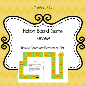 Fiction Board Game - Genre and Plot Element Review