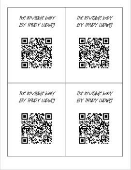 Video Read Aloud QR Codes for Fiction Texts