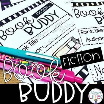 Fiction Book Buddy {A Comprehension Companion}