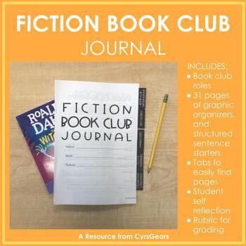 Fiction Book Club Journal