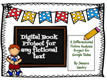 Digital Fiction Book Analysis Project