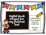 Digital Fiction Book Project - Distance Learning