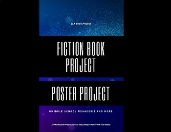 Fiction Book Project: Poster Project