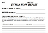 Fiction Book Report