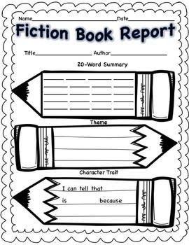 Fiction Book Report