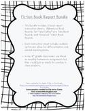 Fiction Book Report Bundle