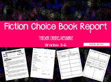 Fiction Book Report Choice Project