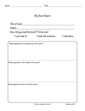 Fiction Book Report- Plot