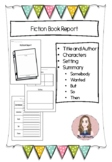Fiction Book Report (SWBST)