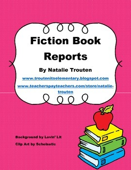 Fiction Book Reports