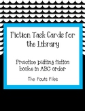 Fiction Books: Shelf Order in Library - ABC Order