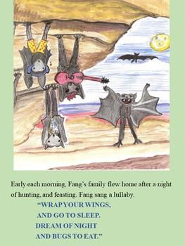 Fiction Book and Activities To Accompany Any Bat Unit