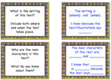Narrative Buddy Reading Talk Cards