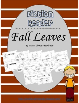 Fiction CLOSE Reading Book-Fall