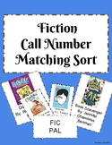 Fiction Call Number Matching Sort
