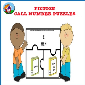 Fiction Call Number Puzzles