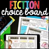 Reading Choice Board: Fiction
