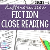 Fiction Close Reading Comprehension Passage and Questions