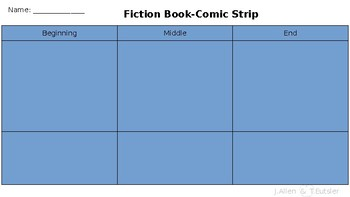 Fiction Comic Strip & Nonfiction Storyboard