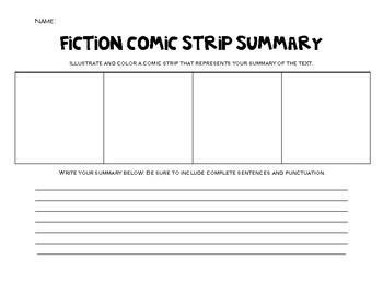 Fiction Comic Strip Summary