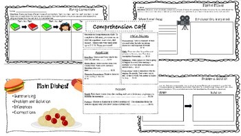 Fiction Comprehension Menu