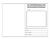 Fiction Comprehension Organizer - Metacognition and Compre