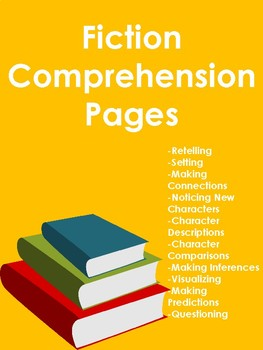 Fiction Comprehension Pages