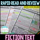Fiction Comprehension Review