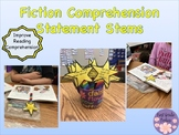 Fiction Reading Response Comprehension Statement Stems