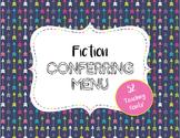 Fiction Conferring Menu for Reading Workshop Conferences