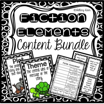 Fiction Elements Bundle
