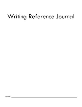 Writing Reference Journal | Elements of Fiction