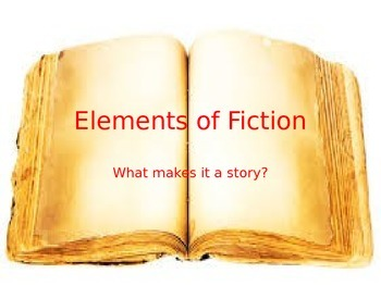 Fiction Elements Powerpoint
