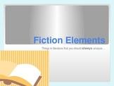 Fiction Elements Presentation