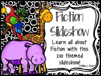Fiction Elements Slide Show!