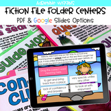 Fiction File Folder Centers BUNDLE (Google Classroom & PDF