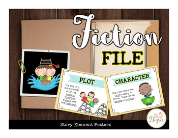 Fiction File: Story Elements Posters